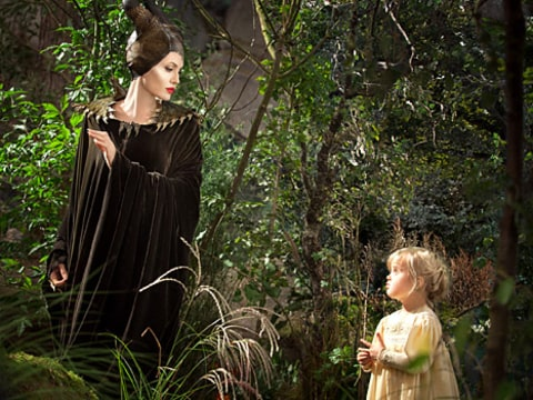 Angelina and Viv in Maleficient