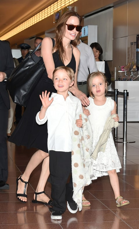 Angelina Jolie Says Her Kids Are 'In My Room' After Brad ...