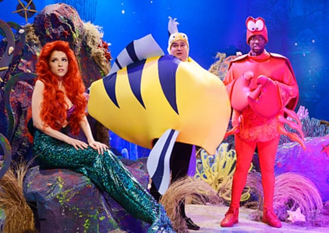 anna kendrick snl little mermaid