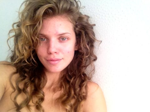 annalynne mccord no makeup twit pic