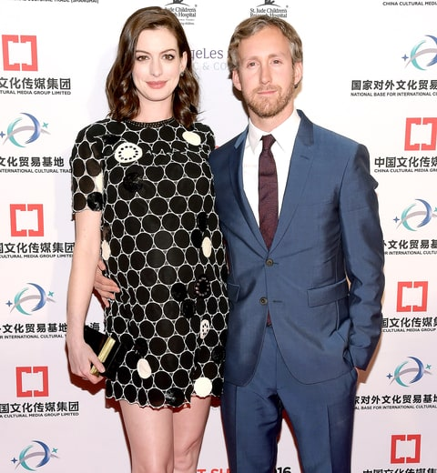 Anne Hathaway and husband Adam Shulman