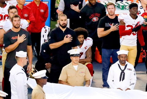 Colin Kaepernick Joined By More Athletes In National