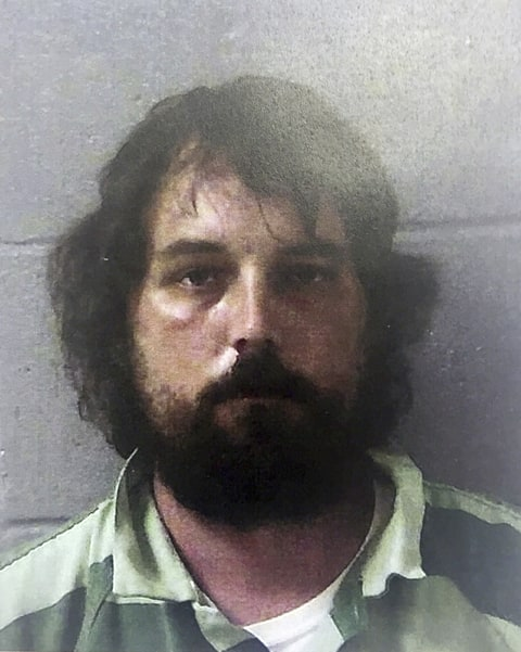 This Feb 22, 2017 photo released by the Georgia Bureau of Investigation shows Ryan Alexander Duke, in Georgia. Duke was charged with murder Feb. 23 in the slaying of Tara Grinstead, an Irwin County High School teacher who disappeared in 2005. News organizations are challenging a judge's gag order in the case involving the slaying of Grinstead.