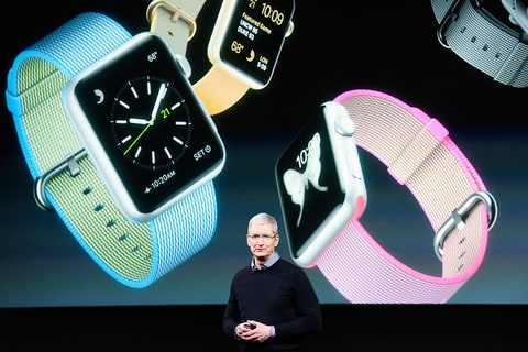 Tim Cook and Apple watch