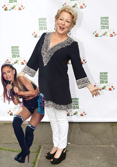 Ariana Grande and Bette Midler