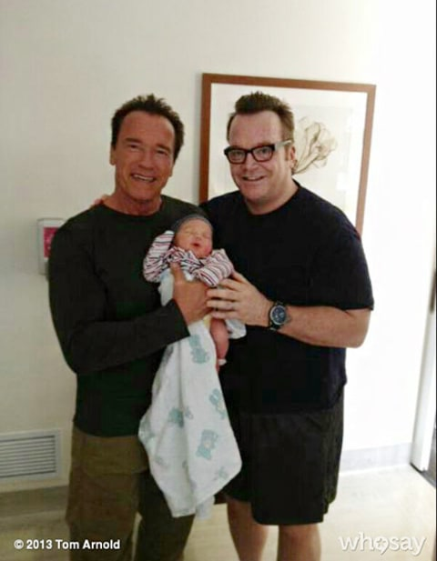 arnold schwarzenegger and tom arnold