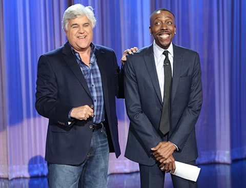 Arsenio Hall & Jay Leno