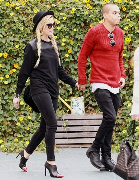 ashlee simpson evan ross bronx bday