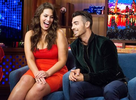 Ashley Graham Joe Jonas Watch What Happens Live