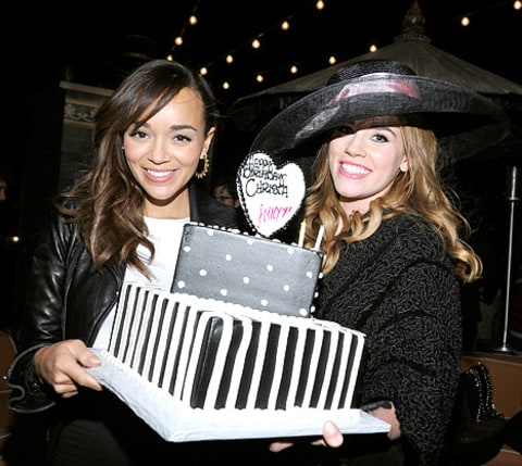 Christa b allen birthday with ashley madekwe