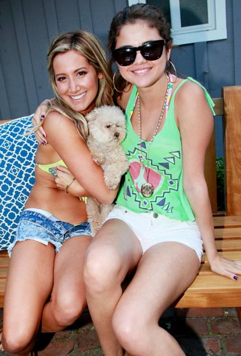ashley tisdale and selena gomez