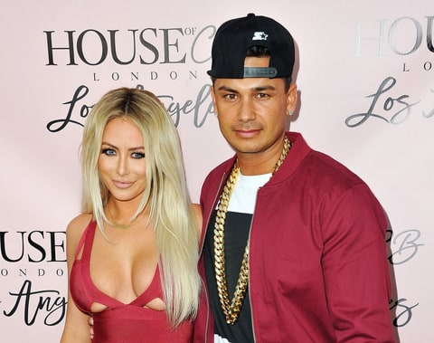 Aubrey O'Day and DJ Pauly D
