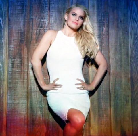 Jessica Simpson Weight Watchers Ad
