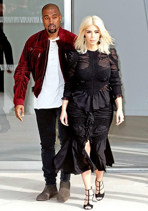Kim Kardashian Looks Demure, Covers Up in Paris: Fashion ...