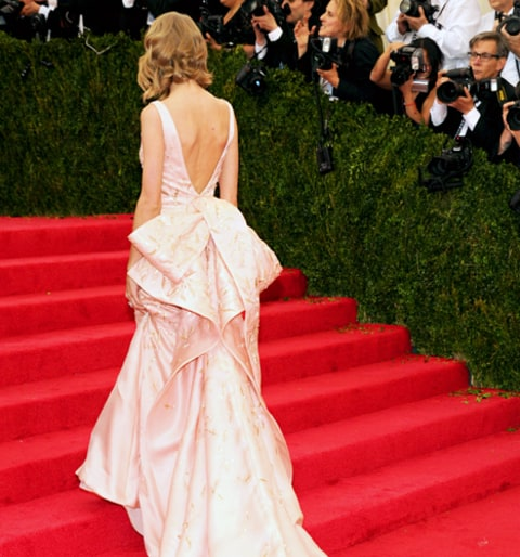 Taylor Swift Met Gala Back of Dress