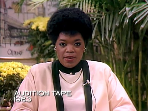 Oprah Winfrey audition video