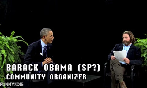 obama between 2 ferns