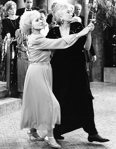 bea arthur and betty white dancing
