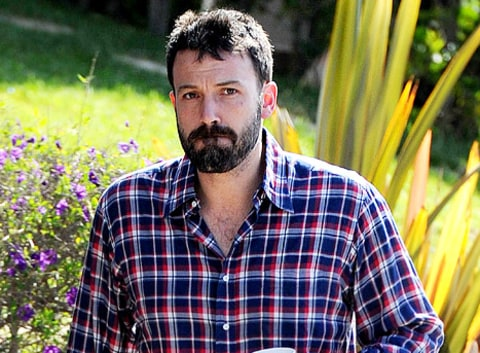 ben affleck bearded