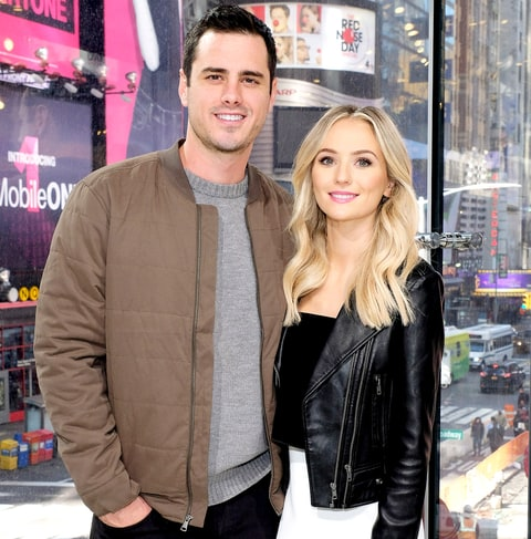 Ben Higgins and Lauren Bushnell visit