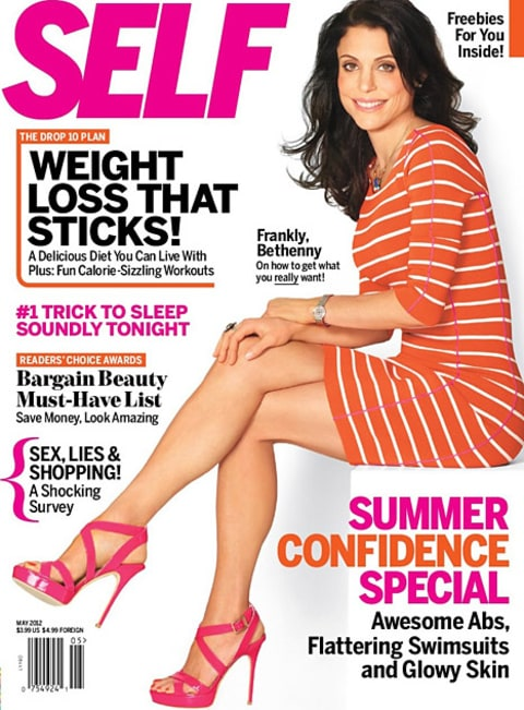 Bethenny Frankel on Self May 2012