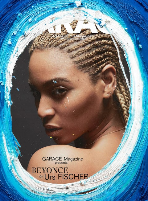 Beyonce on the cover of Garage Magazine
