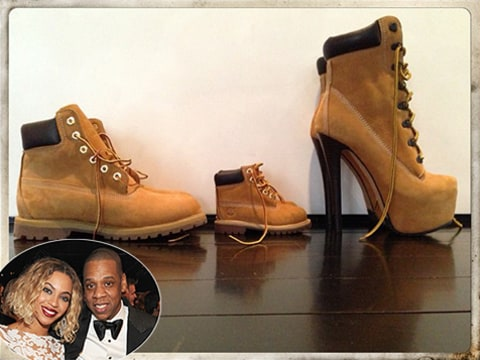 Beyonce & Jay Z's shoes