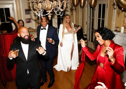 Jay Z Beyonce Solange Grammys 2017 after party