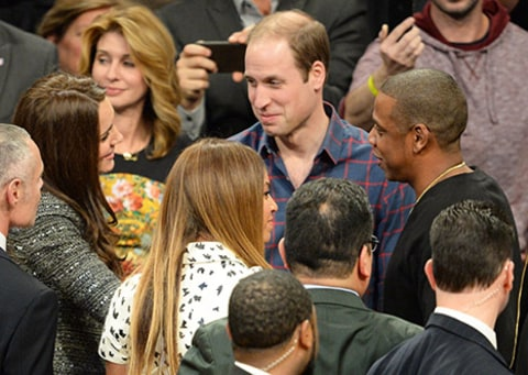 Prince William Kate Middleton Jay Z Beyonce