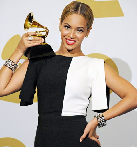 beyonce grammys press room