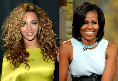 michelle and beyonce