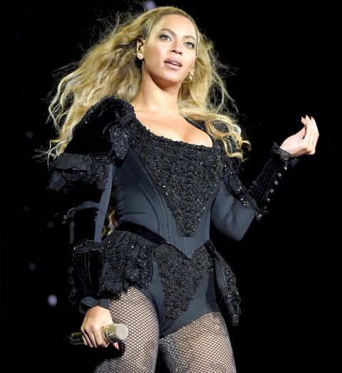 Beyonce performs on stage during