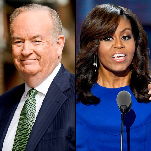 Bill O'Reilly and Michelle Obama