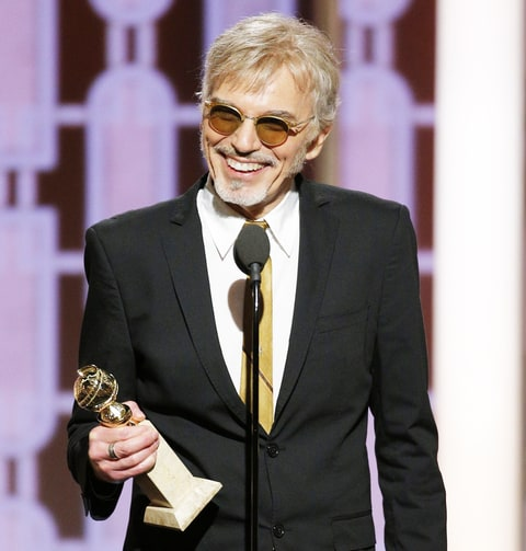 Billy Bob Thornton accepts the award for Best Actor in a TV Series - Drama for his role in