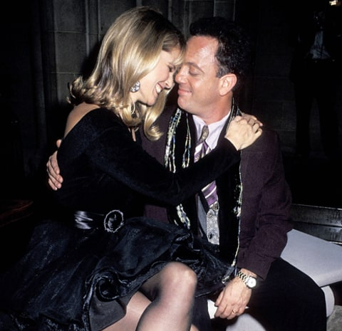 billy joel and christie brinkley in 1990