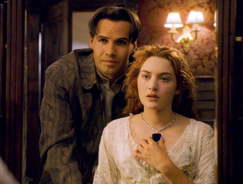 Billy Zane and Kate Winslet in 1997's Titanic.
