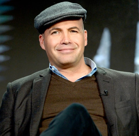 Billy Zane speaks on the panel for Mad Dogs during the Amazon Winter TCA Session at Langham Hotel on January 11, 2016.
