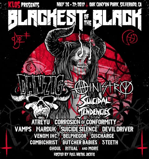 BLACKEST OF THE BLACK Fest Poster