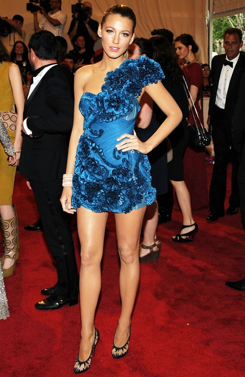 Blake Lively at the 2010 Met Gala