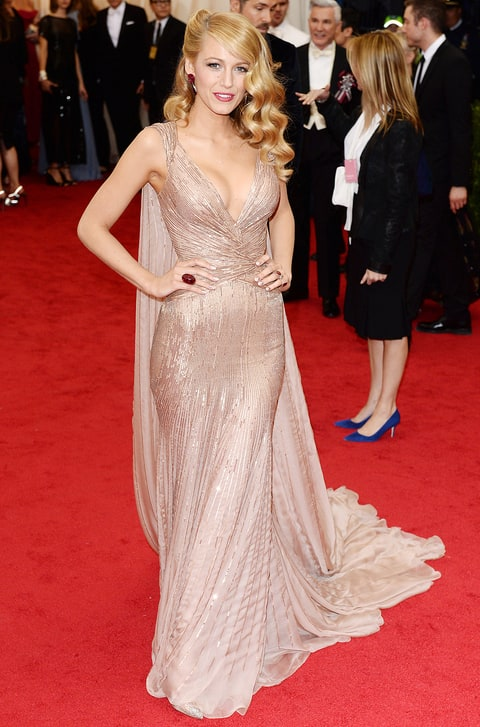 Blake Lively at 2014 Met Gala