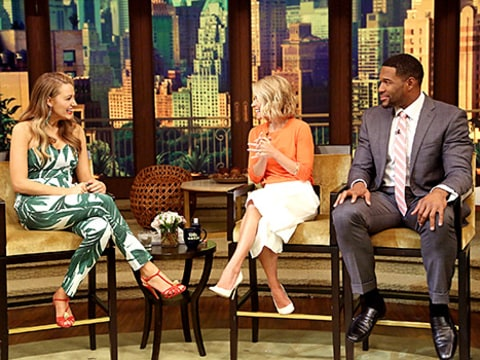 Blake Lively - Live with Kelly and Michael
