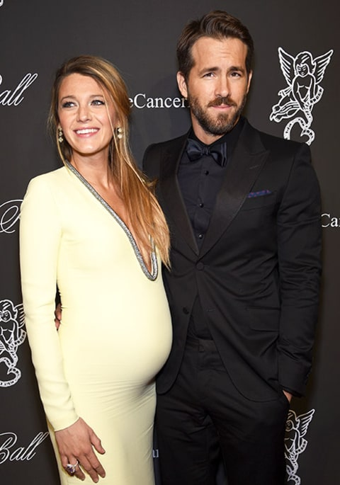 Blake Lively and Ryan Reynolds Angel Ball