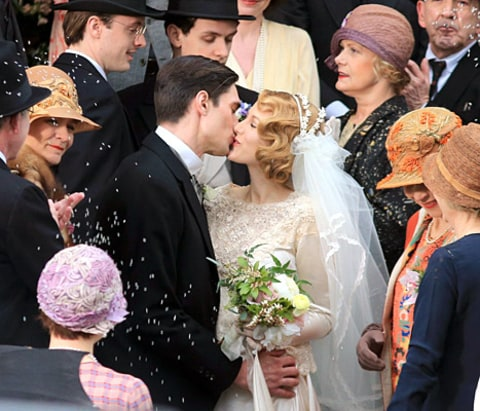 Blake Lively wedding scene