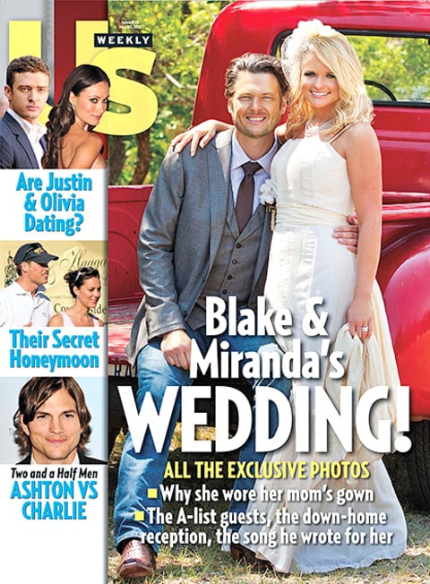 Blake and Miranda - Us Weekly Cover