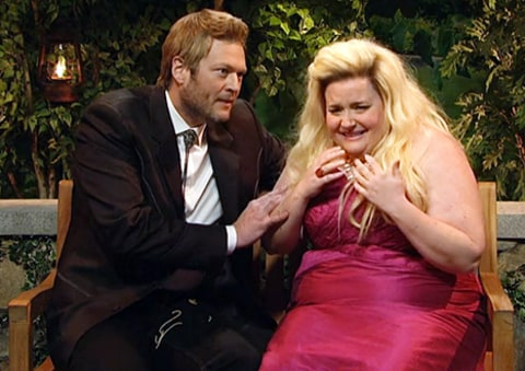 blake shelton snl bachelor spoof