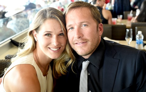 Morgan Miller and Bode Miller attends The 142nd Kentucky Derby at Churchill Downs on May 7, 2016 in Louisville, Kentucky.