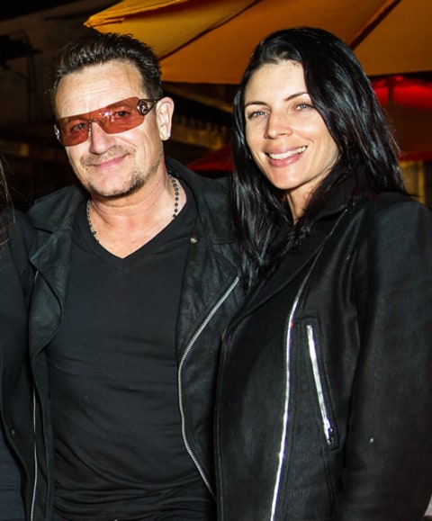 Bono and Liberty Ross