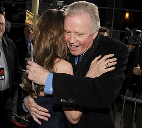 Jon Voight and Angelina