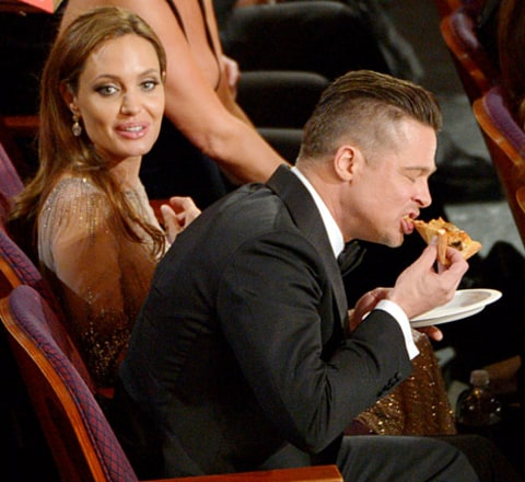 brad and angie pizza oscars
