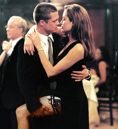 brad and angie in mr and mrs smith